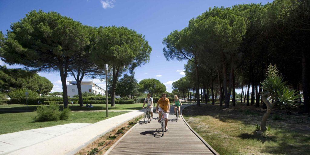 visiter la grande motte balade vélo La Grande Motte
