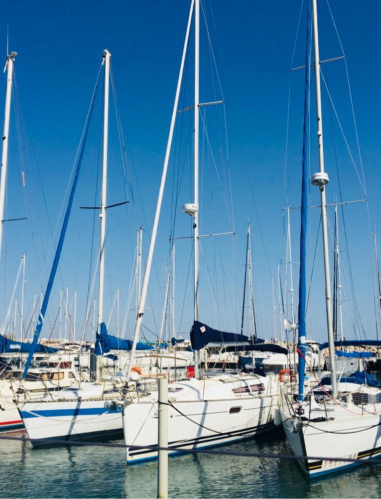 port bateaux voiliers La Grande Motte