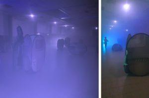 Partie de Zombie Laser Game pour la Halloween Horror Party