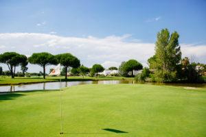 Le green golf La Grande Motte