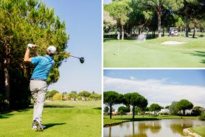 Trois parcours golf La Grande Motte
