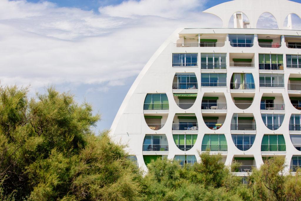 Architecture Poséidon La Grande Motte