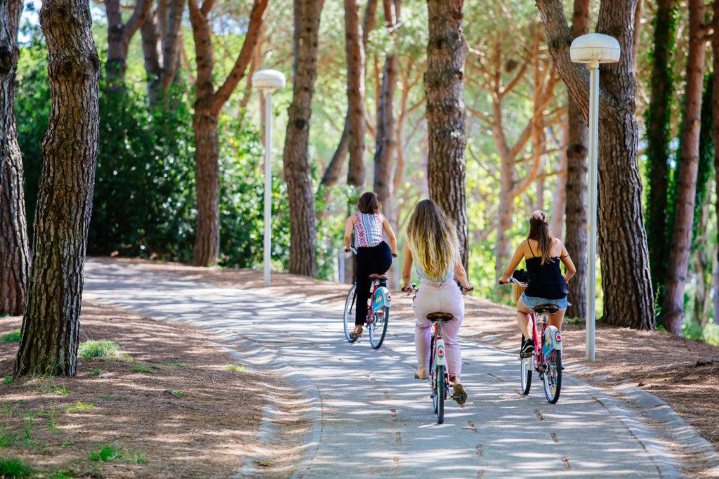 Pistes cyclables La Grande Motte