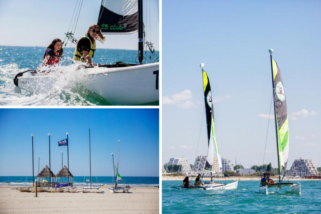 stages nautiques :Stage de voile au Yacht Club