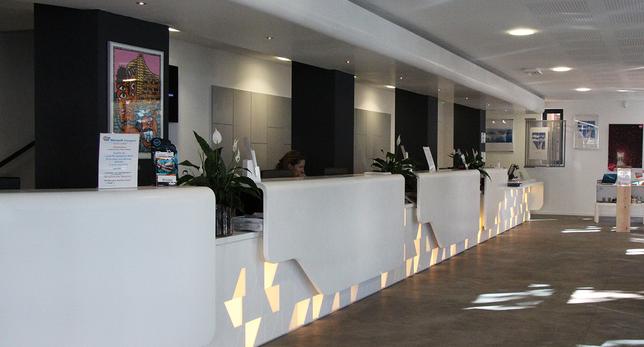 Intérieur de l'Office de Tourisme